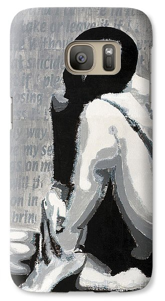 Galaxy Case featuring the painting Painless by Denise Deiloh