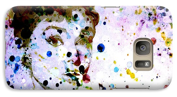 Galaxy Case featuring the digital art Paint Drops by Brian Reaves