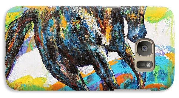 Galaxy Case featuring the painting Paint Horse by Jennifer Godshalk