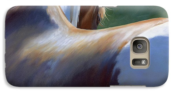 Galaxy Case featuring the painting Paint Landscape II by Alecia Underhill