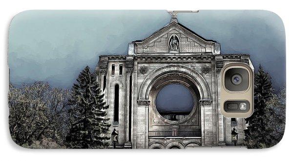 Galaxy Case featuring the digital art Painted Basilica 2 by Teresa Zieba