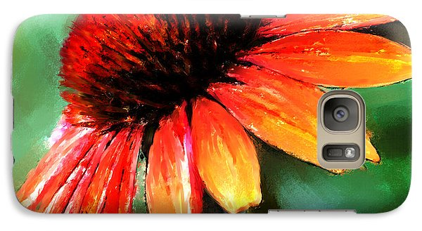 Galaxy Case featuring the painting Painted Daisy by Robert Smith