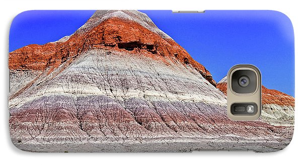 Galaxy Case featuring the photograph Painted Desert National Park by Bob and Nadine Johnston