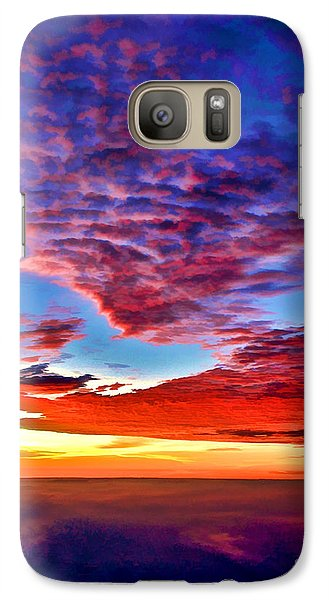 Galaxy Case featuring the photograph Painted Heavens by Adam Olsen