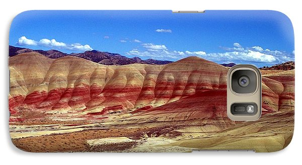 Galaxy Case featuring the photograph Painted Hills by Chalet Roome-Rigdon