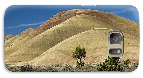 Galaxy Case featuring the photograph Painted Hills by Sonya Lang