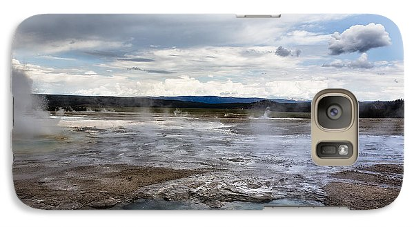 Galaxy Case featuring the photograph Paint Pots by Belinda Greb