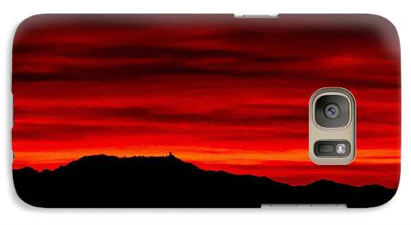 Galaxy S7 Case featuring the photograph Painted Sky 36 by Mark Myhaver