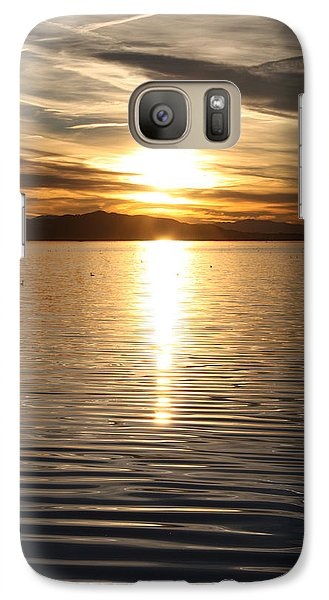 Galaxy Case featuring the photograph Painted Sky II by Richard Stephen