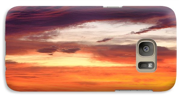 Galaxy Case featuring the photograph Painterly Sunrise On The Blue Ridge Parkway by Photography  By Sai