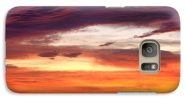 Painterly Sunrise On The Blue Ridge Parkway Galaxy S7 Case
