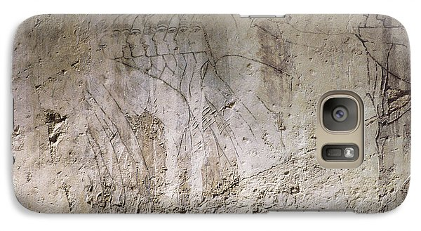Galaxy Case featuring the photograph Painting West Wall Tomb Of Ramose T55 - Stock Image - Fine Art Print - Ancient Egypt by Urft Valley Art