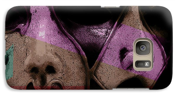 Galaxy Case featuring the digital art Pair by Galen Valle