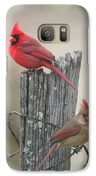 Galaxy Case featuring the photograph Pair Of Cards by Robert Camp
