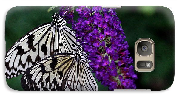 Galaxy Case featuring the photograph Pair Of Paper Kites by Ruth Jolly
