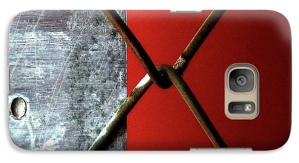 Galaxy Case featuring the photograph Paired by Newel Hunter
