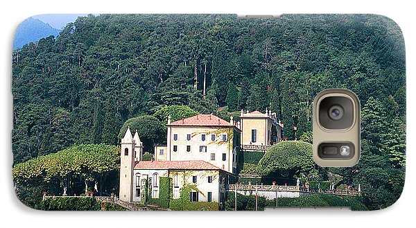 Galaxy Case featuring the photograph Palace At Lake Como Italy by Greta Corens