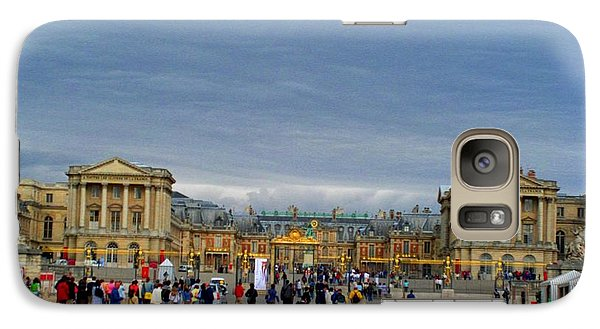 Galaxy Case featuring the photograph Palace At Versaille by Cleaster Cotton