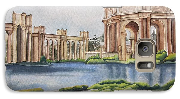 Galaxy Case featuring the painting Palace Of Fine Arts by Teresa Beyer