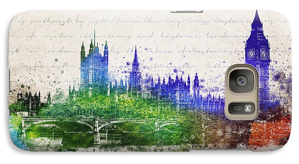 Palace Of Westminster Galaxy S7 Case by Aged Pixel