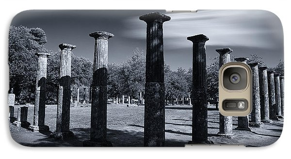 Galaxy Case featuring the photograph Palaestra At Olympia by Micah Goff