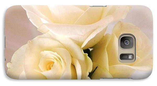 Galaxy Case featuring the photograph Pale Yellow by Peggy Stokes
