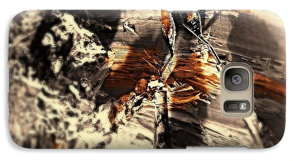 Galaxy Case featuring the digital art Palette With Sepia Tones  by Delona Seserman