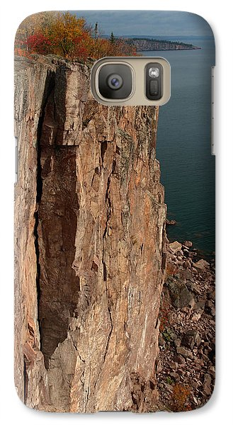 Galaxy Case featuring the photograph Palisade Depths by James Peterson