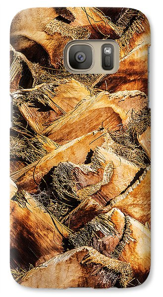 Palm Bark Galaxy S7 Case by  Onyonet  Photo Studios