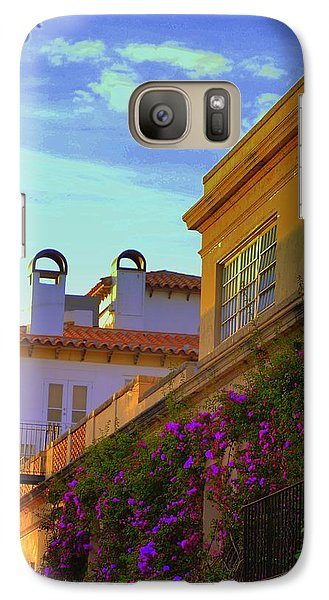 Galaxy Case featuring the photograph Palm Beach Via by George Mount