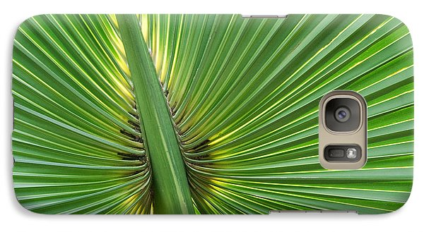 Galaxy Case featuring the photograph Palm Love by Roselynne Broussard