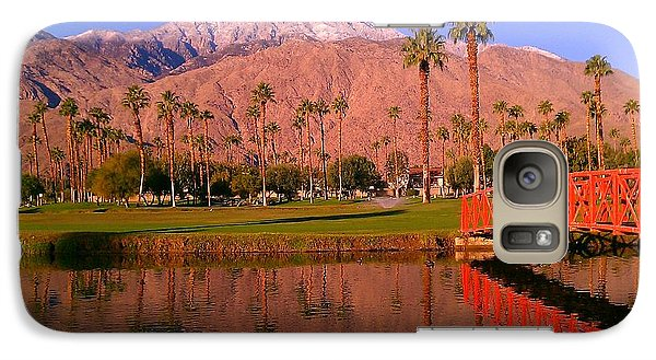 Galaxy Case featuring the photograph Palm Springs by Chris Tarpening