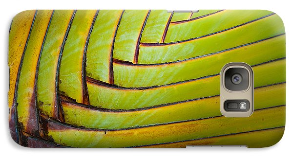 Palm Tree Leafs Galaxy S7 Case by Sebastian Musial