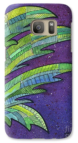 Palms Against The Night Sky Galaxy S7 Case