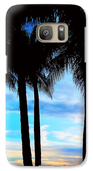 Galaxy Case featuring the photograph Palms by Kara  Stewart
