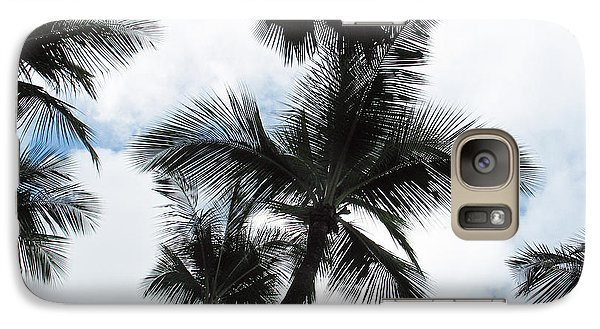 Galaxy Case featuring the photograph Palms by Vikki Bouffard