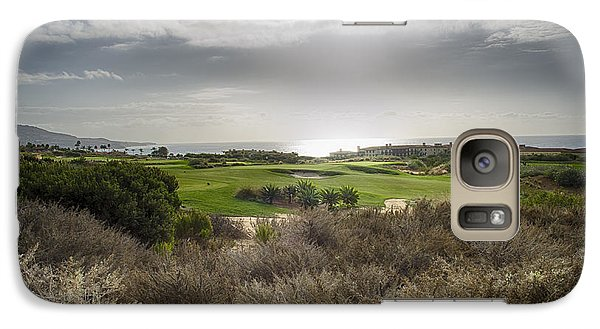 Galaxy Case featuring the photograph Palos Verdes Landscape by Joseph Hollingsworth