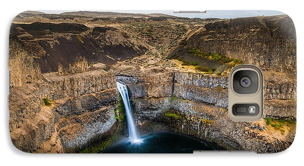 Galaxy Case featuring the photograph Palouse Falls by Chris McKenna