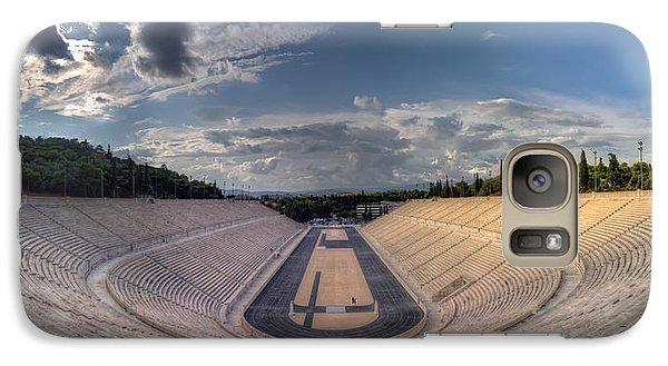 Galaxy Case featuring the photograph Panathenaic Stadium by Micah Goff