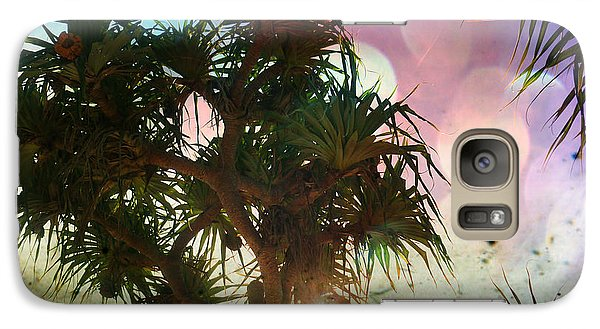 Galaxy Case featuring the photograph Pandanus by Therese Alcorn