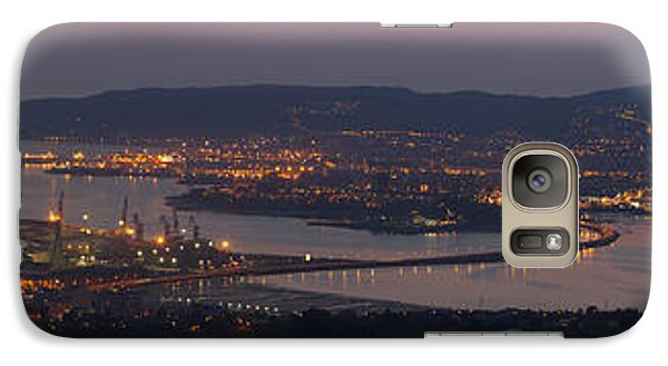 Galaxy Case featuring the photograph Panorama Of Ferrol From Mount Marraxon Galicia Spain by Pablo Avanzini