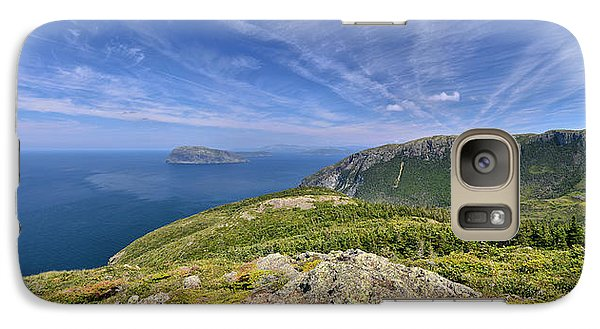 Galaxy Case featuring the photograph Panorama Of Grosvenor Island And The Outer Bay Of Islands by Sebastien Coursol