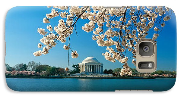 Panoramic View Of Jefferson Memorial Galaxy S7 Case by Panoramic Images
