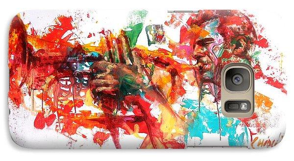 Music Galaxy S7 Case - Paolo Fresu by Massimo Chioccia