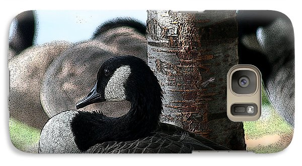 Galaxy Case featuring the photograph Pap Daddy Big Spring Park by Lesa Fine