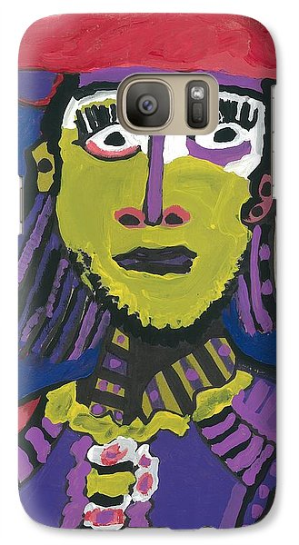 Galaxy Case featuring the painting Papal Guard by Don Koester