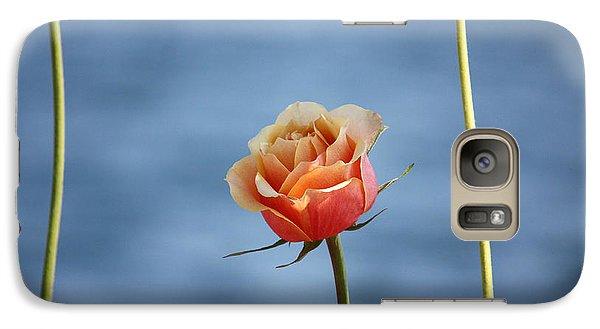 Galaxy Case featuring the photograph Papaya's World by The Art Of Marilyn Ridoutt-Greene