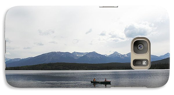 Galaxy Case featuring the photograph Paradise In Pyramid Island by Ryan Crouse