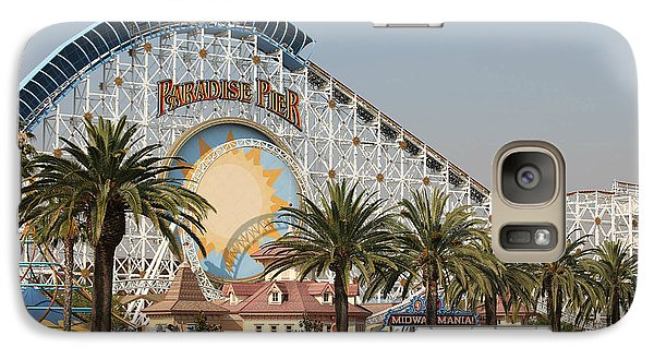 Galaxy Case featuring the photograph Paradise Pier by Michael Albright