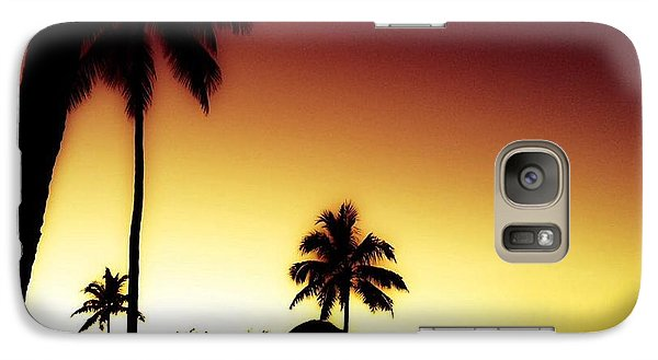 Galaxy Case featuring the photograph Paradise  by Toni Martsoukos